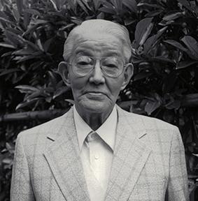 یوشیداگورو، یکی از بنیانگذاران شرکت کانن، و مهندس نمونه اولیه کوانن