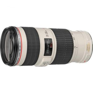Canon EF 70-200 F4 L USM IS Lens