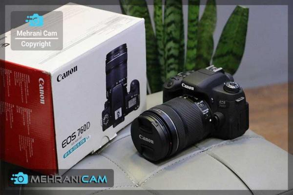 دوربین دست دوم canon 760d