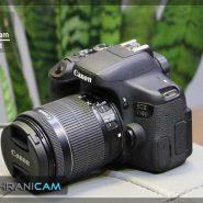 دوربین عکاسی canon750D