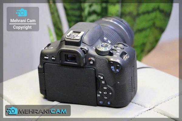 دوربین دست دوم کانن750D