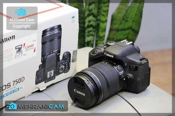 دوربین کارکرده 750D