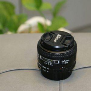 لنز دست دوم نیکون 50mm f/1.4D