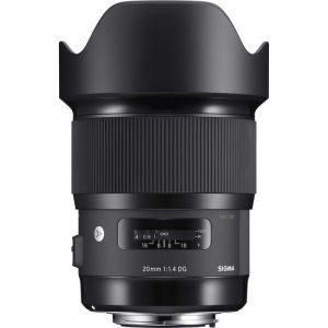 Sigma 20mm f1.4 DG HSM Art for Nikon