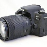 Canon 77D kit18-135mm usm