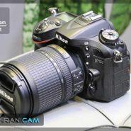 دوربین دست دوم nikon d7100 به همراه کیت 140-18