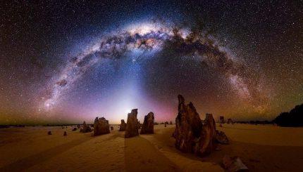 عکاسی از آسمان شب و ستاره ها