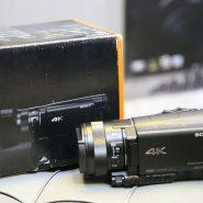 دوربین فیلم برداری AX100 دست دوم سونی
