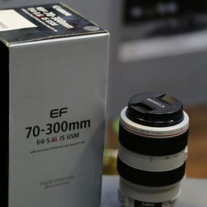 Canon lens 70_300mm f/4-5.6 L IS