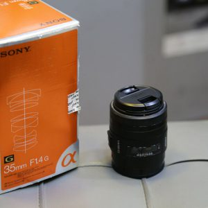 لنز دوربین sony lens 35mm f1.4G a mount
