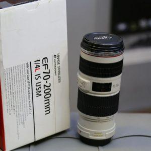 لنز دست دوم canon lens 70_200mm f/4 L IS