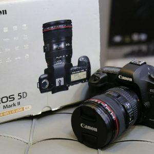 دوربین عکاسی دست دوم canon 5d mark ii kit 24_105mm