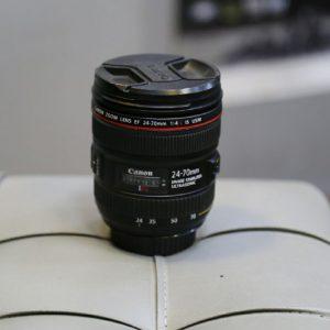لنز دست دوم Canon lens 24_70mm f4 L
