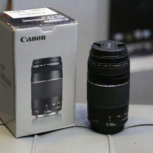 لنز دست دوم CanonEF 75-300mm III