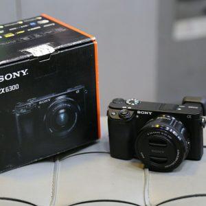 دوربین دست دوم sony a6300 kit 16_50mm