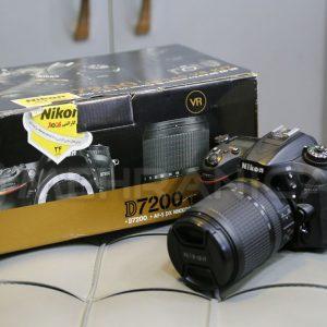 دوربین دست دوم nikon d7200 kit 18_140mm