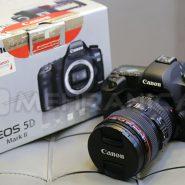 دوربین دست دوم canon 5d mark 2 kit 24_105mm