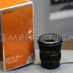 لنز دست دوم sony 11_18mm f4.5-5.6 a mount