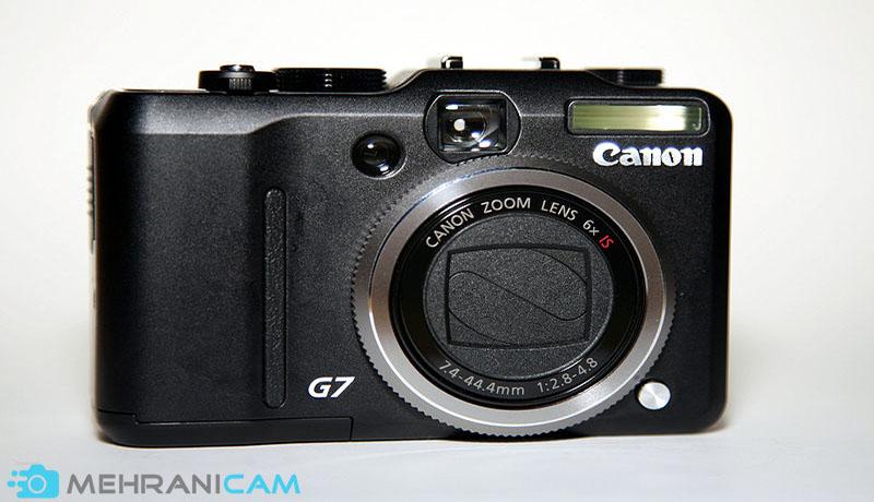 ویژگی های دوربین های سری G کانن