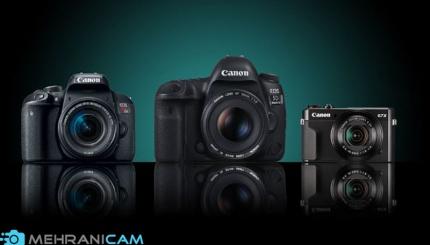 بهترین دوربین های کانن