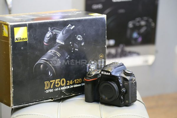 دوربین دست دوم Nikon d750 body
