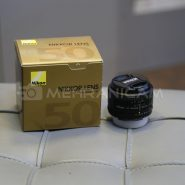 لنز دست دوم nikon lens 50 f1.8 d