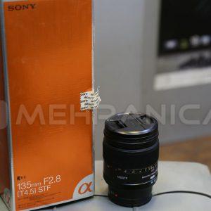 لنز دست دوم sony 135mm f2.8a mount