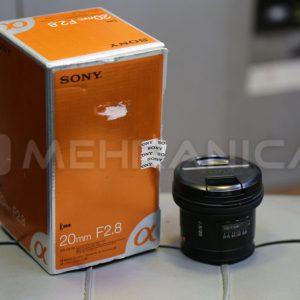لنز دست دوم sony 20mm f2.8 a mount