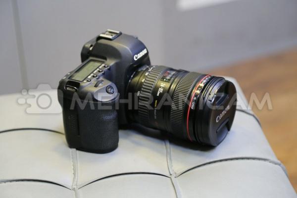دوربین دست دوم 5d mark ii kit 24_105mm