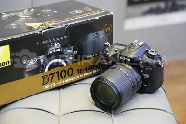 دوربین دست دوم nikon d7100 kit 18_140mm