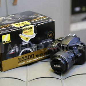 دوربین دست دوم nikon d3300 kit 18_55mm
