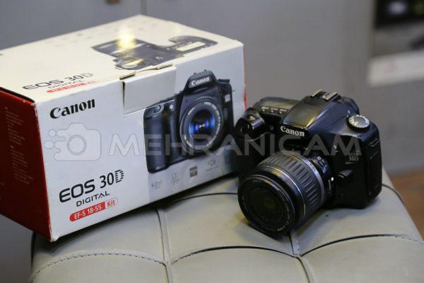 دوربین دست دوم canon 30d kit18_55mm