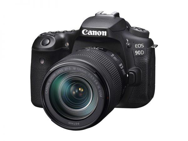 Canon 90D kit 18-135mm EF-S IS USM