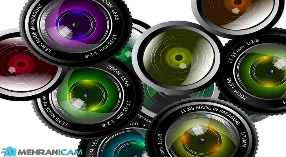خرید لنز دست دوم دوربین