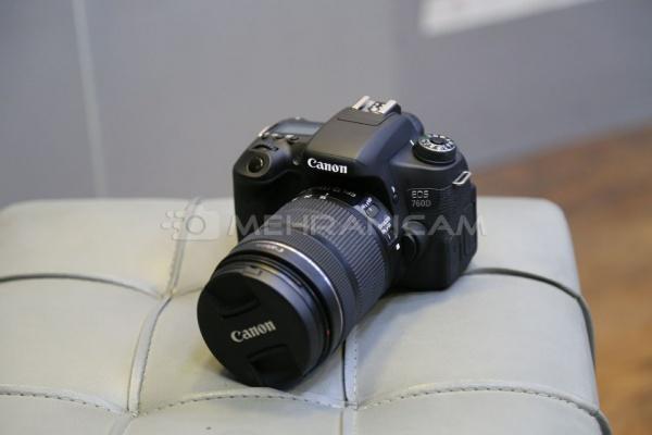 دوربین دست دوم Canon 760d kit 18_135mm is stm