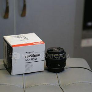 لنز دست دوم canon 50mm f1.4 usm