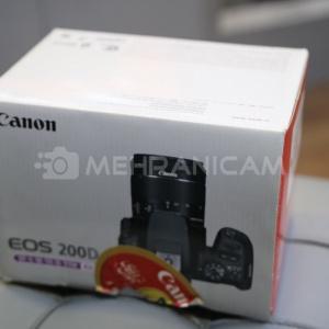 دوربین دست دوم Canon 200D kit 18-55mm stm