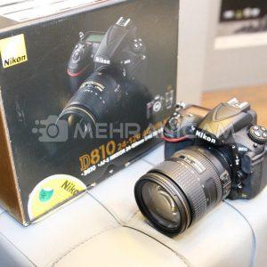 دوربین دست دوم Nikon D810 Kit 24-120mm f4 N