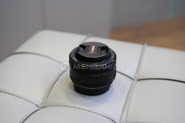 لنز دست دوم canon 50mm f1.8 stm