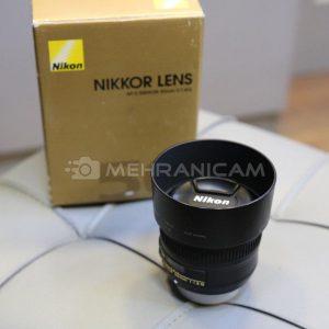 لنز دست دوم nikon 50mm f1.8 G