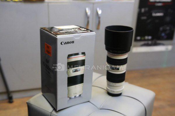 لنز دست دوم canon 70-200mm f4 L USM