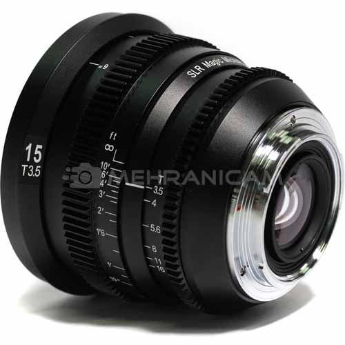 لنز SLR Magic میکروپرایم 15mm/T3.5 مانت E