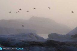 عکاسی در زمستان مهرانی کم