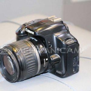 دوربین دست دوم Canon 450D Kit 18-55