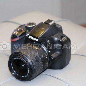 دوربین دست دوم Nikon D3200 Kit 18-55mm vr ll