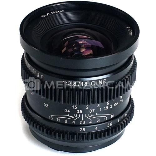 لنز SLR Magic میکروپرایم 25mm/F1.4