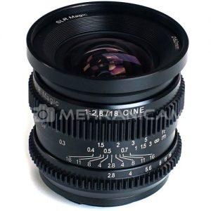 لنز SLR Magic میکروپرایم 18mm/f2.8