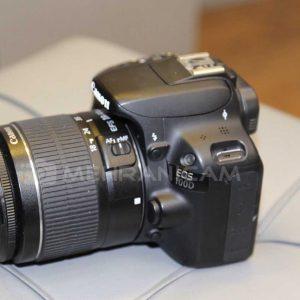 دوربین دست دوم Canon 100D Kit 18-55 lll