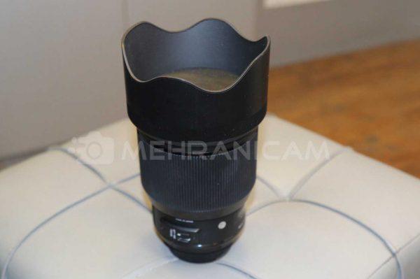 لنز دست دوم lens sigma 85mm f1.4 art