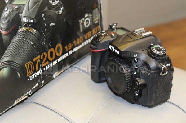 دوربین دست دوم Nikon D7200 body